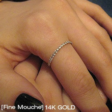 [Fine Mouche] Cubic Row Ring
