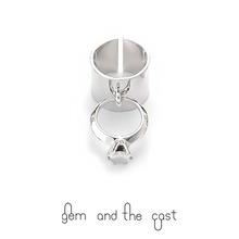 30%SALE[gem and the cast] Editorial Ring