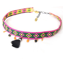 Ethnic Tassel Chocker